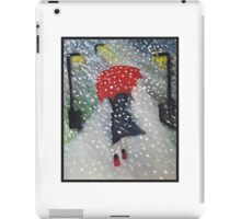 Snow walk iPad Case/Skin