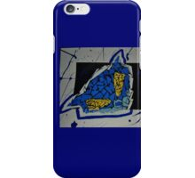 Collaging Characters iPhone Case/Skin