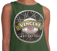 The Vincent Motorcycle England Contrast Tank