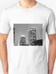 Black And White Cityscape 12 T-Shirt