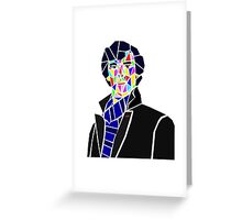 Fragments of Sherlock Greeting Card