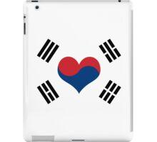 Korean Flag Heart iPad Case/Skin