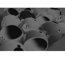 sliced balls Photographic Print