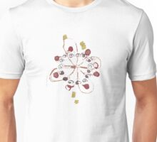 Cute Flowers Abstract Chill Relaxing Art Cool Unisex T-Shirt