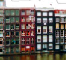 tiny amsterdam Sticker