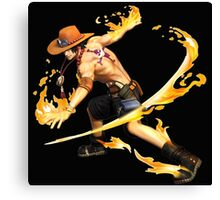 Ace with the power of fire Canvas Print