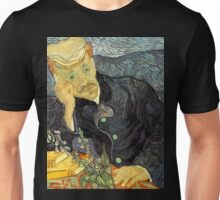 Portrait of Dr. Gachet by Vincent Van Gogh Unisex T-Shirt