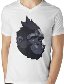 Baby Winston Mens V-Neck T-Shirt