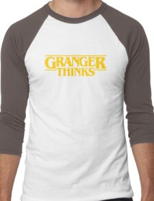 Granger Thinks! Men's Baseball ¾ T-Shirt