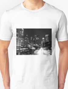Black And White Cityscape 14  T-Shirt