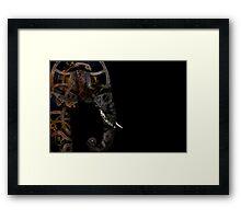 clockwork elephant Framed Print