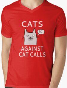 Cats Against Cat Calls Mens V-Neck T-Shirt