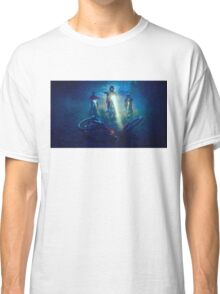 Stranger Things Digital Painting Fan Art Classic T-Shirt