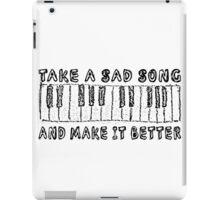The Beatles Song Lyrics Hey Jude Inspirational iPad Case/Skin