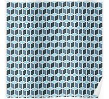 Magic cube pattern. Poster