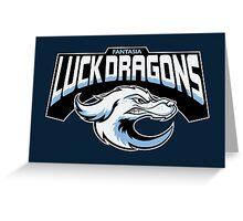 Fantasia Luck Dragons Greeting Card