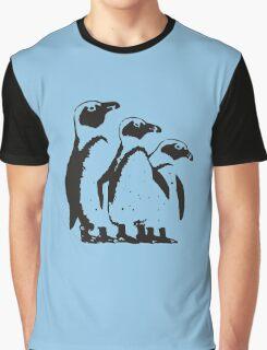 John McVie - Three Penguins Graphic T-Shirt