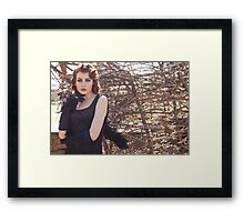 Gothic woman  Framed Print