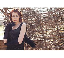 Gothic woman  Photographic Print