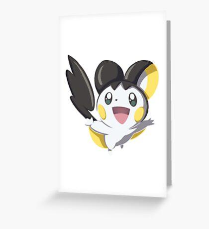 Pokemon - Emolga Greeting Card