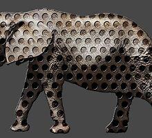 holy elephant by tinncity