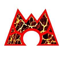 Team Magma Logo (Pokemon) Photographic Print