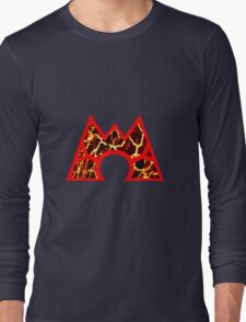 Team Magma Logo (Pokemon) Long Sleeve T-Shirt