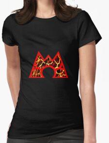 Team Magma Logo (Pokemon) Womens Fitted T-Shirt