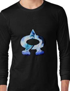 Team Aqua Logo (Pokemon) Long Sleeve T-Shirt