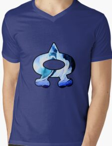 Team Aqua Logo (Pokemon) Mens V-Neck T-Shirt