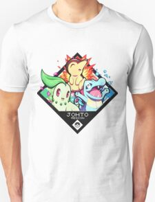 Johto Region - Pokemon Unisex T-Shirt