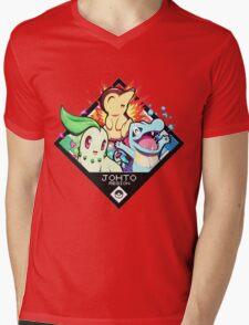 Johto Region - Pokemon Mens V-Neck T-Shirt