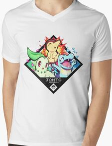 Johto Region - Pokemon Mens V-Neck T-Shirt