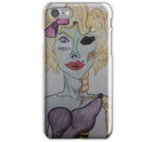Zombie Pin Up iPhone Case/Skin