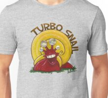 Turbo snail - acrylic, pearl buttons Unisex T-Shirt