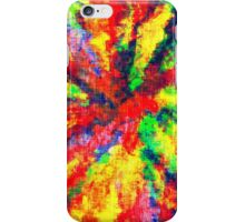 Psychedelic Art School Acrylic Paint Canvas iPhone Case/Skin