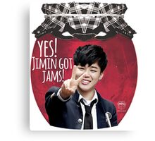 Yes! Jimin got jams! Canvas Print