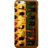 tiny guitar collection iPhone Case/Skin