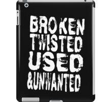 I'm  Gold - white lettering iPad Case/Skin