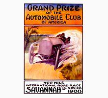 """SAVANNAH GRAND PRIX"" Vintage Auto Racing Print Unisex T-Shirt"