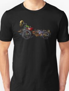 steam powered apple car T-Shirt