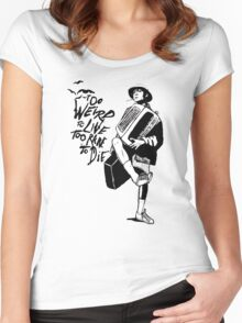 Weird and Rare - Fear Loathing Vegas Women's Fitted Scoop T-Shirt