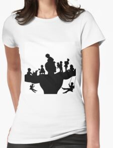Father Womens Fitted T-Shirt