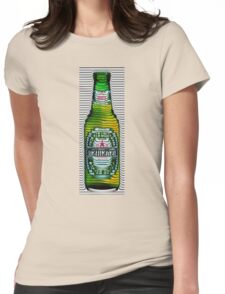 beer ripples Womens Fitted T-Shirt