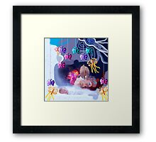 Dream of baby Framed Print