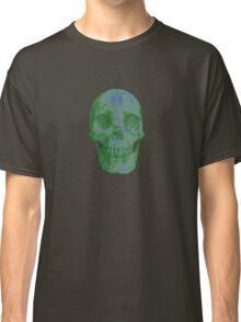 Glowing Skull Weird Random Creepy Classic T-Shirt
