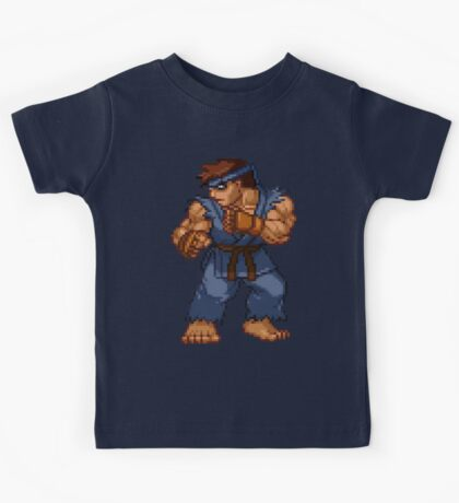 Evil Ryu - Street Fighter Sprite Kids Tee
