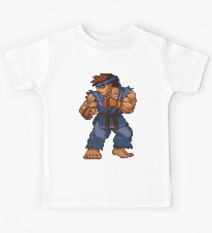 Evil Ryu - Street Fighter Sprite Kids Tee