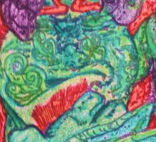 Ganja Guardians #5:OG {Final} Sticker