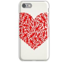 Heart the person iPhone Case/Skin